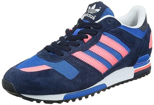 lowest price 0efb0 9b157 Adidas Originals ZX 700 Mens B34333 Navy White Bluebird Retro Suede Running  Casual shoes