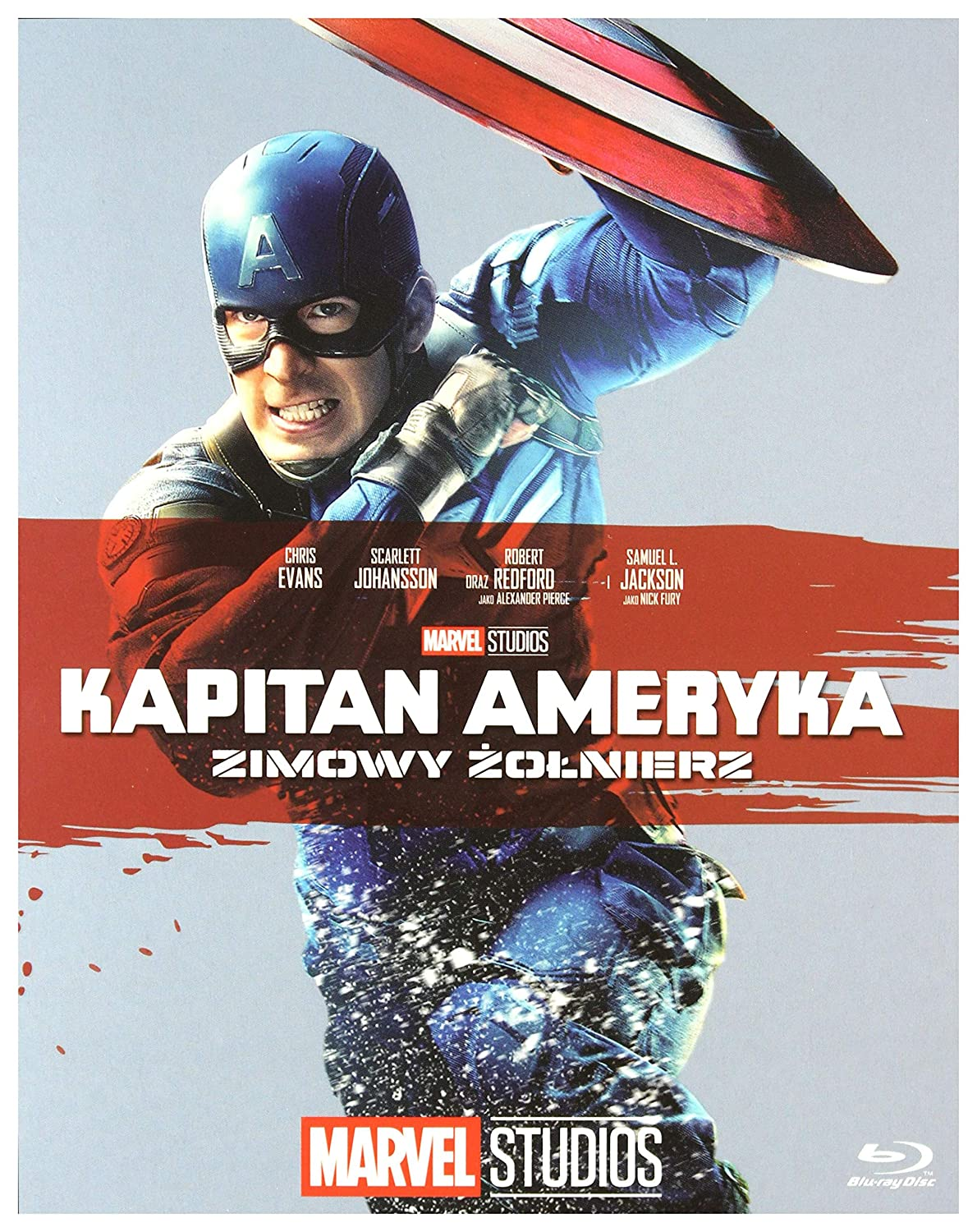 Captain America: The Winter Soldier Blu-Ray Region Free IMPORT No ...