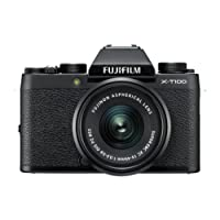 Fujifilm X-T100 Black with Black XC15-45mm lens F 3.5-5.6 OIS PZ