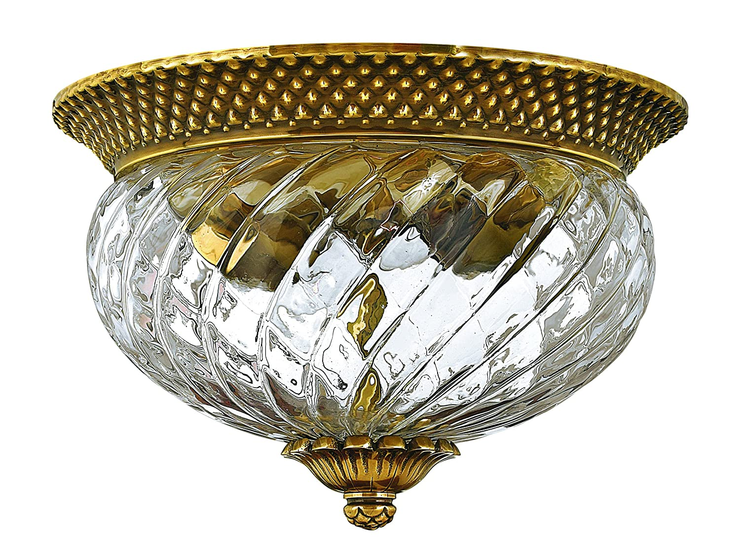 Hinkley 4102BB Traditional Two Light Flush Mount from Plantation collection in Brassfinish - Flush Mount Ceiling Light Fixtures - Amazon.com  sc 1 st  Amazon.com & Hinkley 4102BB Traditional Two Light Flush Mount from Plantation ...