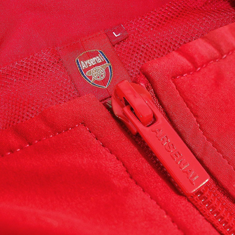 12ed9abff6a80 Arsenal FC - Chándal oficial para niño - Chaqueta y pantalón largos   Amazon.es  Ropa y accesorios