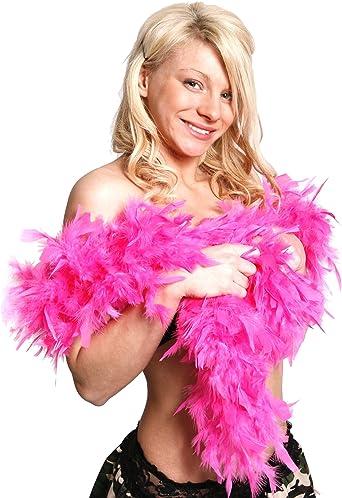 Rosa suave Boa de plumas para disfraz para despedida de soltera ...