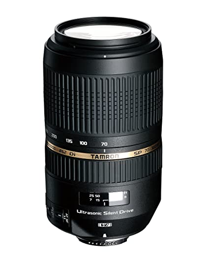 7602fbdaf2f Image Unavailable. Image not available for. Color: Tamron AF 70-300mm f/4.0-5.6  SP Di VC USD ...