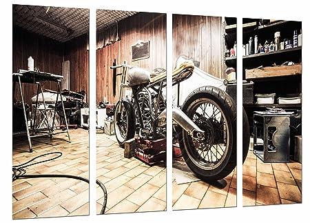 Poster Fotográfico moto café racer