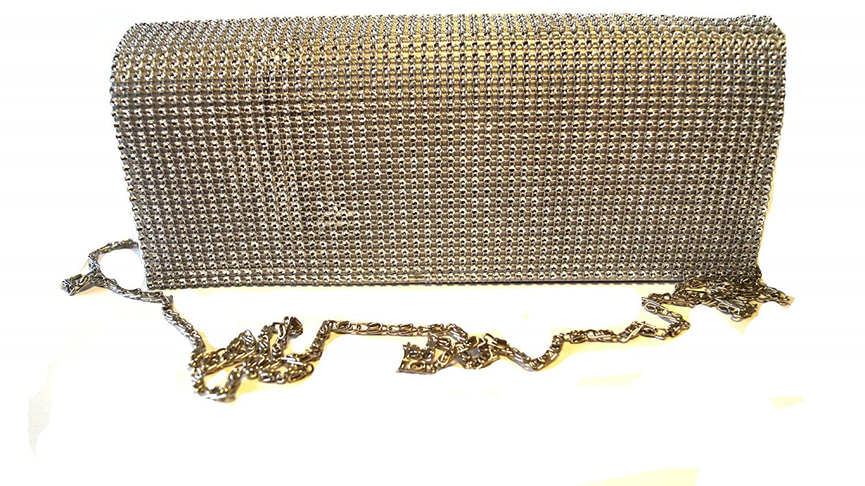 familientrends clutch - Cartera de mano de Poliéster para mujer Goldbeige Talla única: Amazon.es: Ropa y accesorios