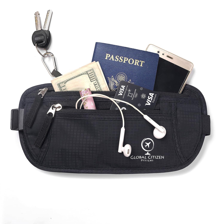 Travel Wallet RFID Blocking Quality 10466028 Hidden Money Belt Keeps Your Passport Safe