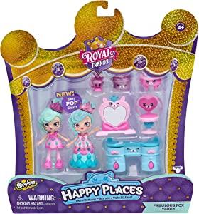 Shopkins Happy Places Welcome Pack - Fabulous Fox Vanity