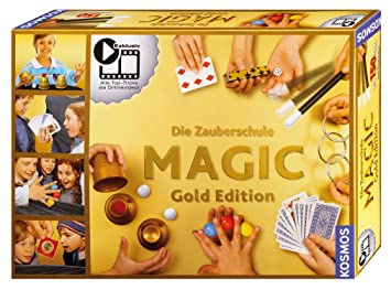 Kosmos 698232 Zauberschule Magic Gold Edition 150 kindergerechte Zaubertrick Zauberartikel & -tricks
