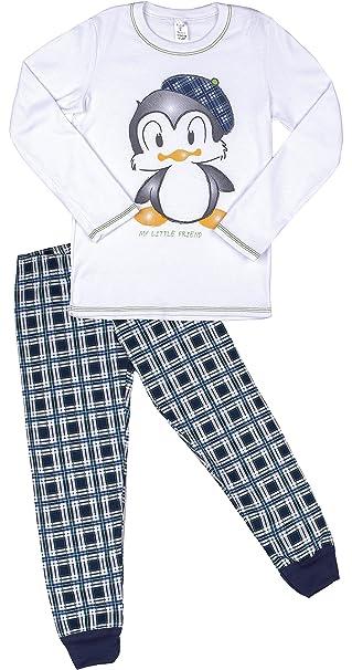 Italian Fashion IF Niñas Pijamas Wega 0223 (Blanco, 86-92)