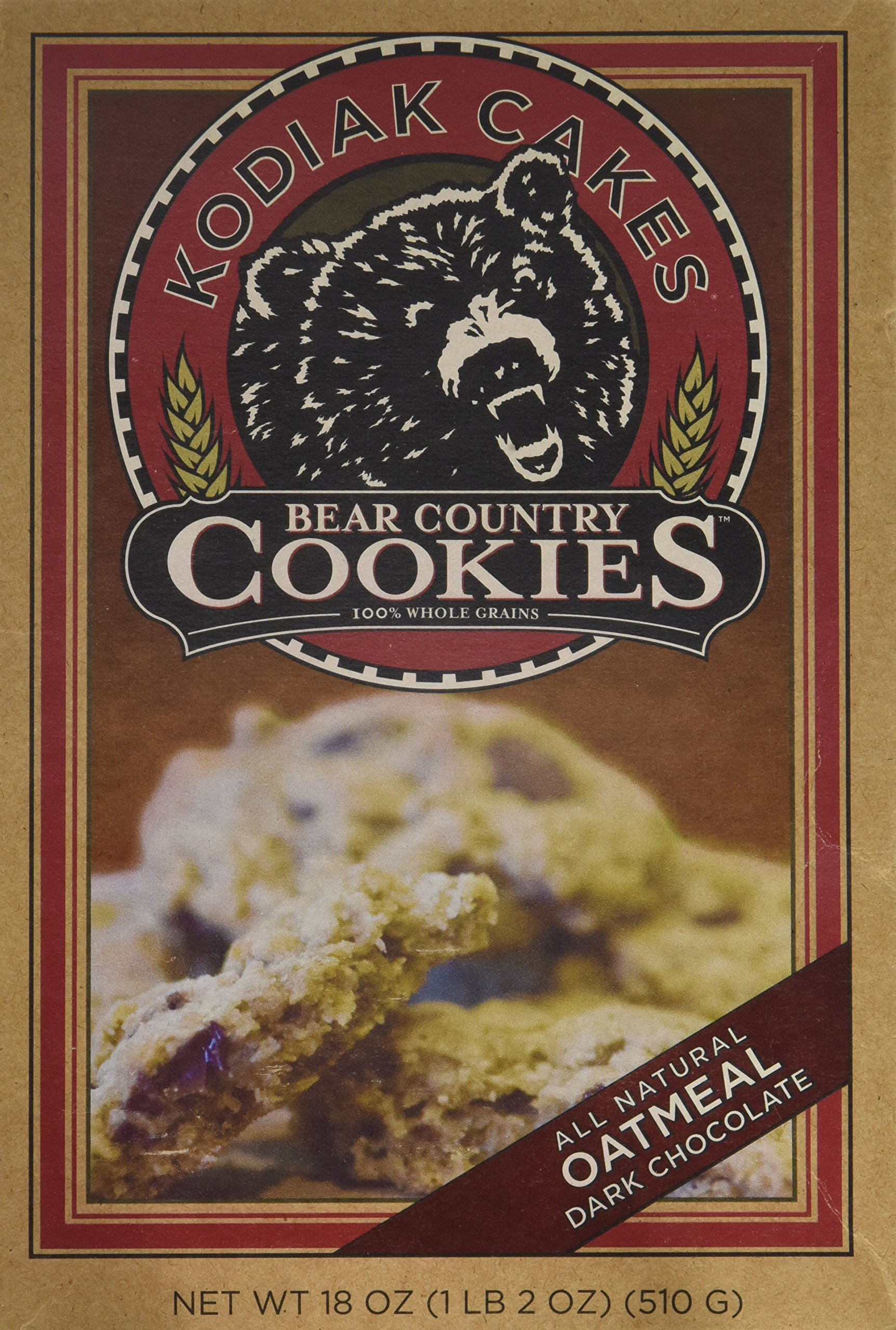 Kodiak Cakes Bear Country Oatmeal Dark Chocolate Cookie Mix, 18 oz