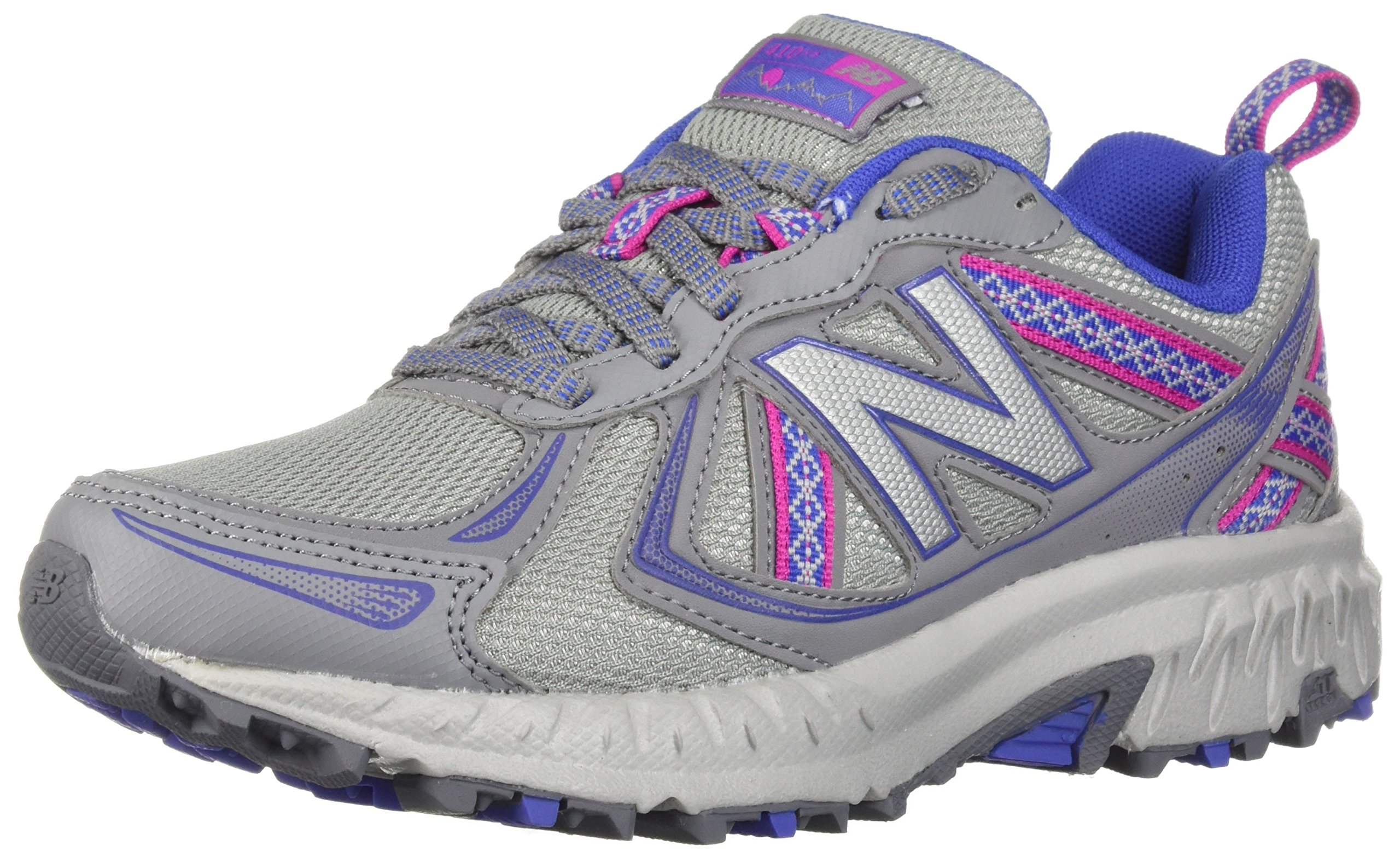 New Balance Women's WT410v5 Cushioning Trail Running Shoe, Steel, 5.5 B US by New Balance