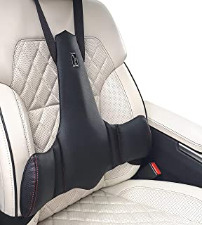 1pcs Black Memory Foam Back Cushion Car Lumbar Pillow for Office Desk Chair and Car Seat Ergonomic Adjust Sitting Position Relief Pain of Back//Spine//Coccyx Anyshock Back Lumbar Support Pillow