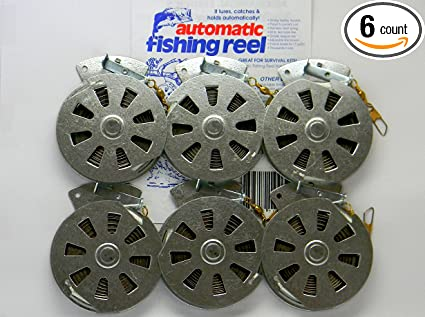 Yoyo Fish Trap Sensitive Trigger 3 Mechanical Fisher/'s Yo Yo Fishing Reels