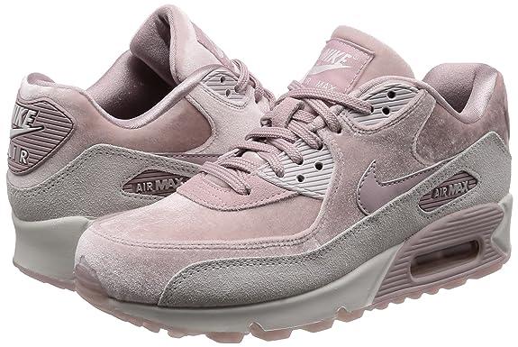 Nike Wmns Air MAX 90 LX, Zapatillas de Gimnasia para Mujer