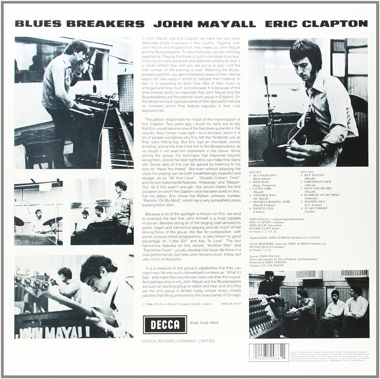 Bluesbreakers [VINYL] \'Back To Black\' 60th Vinyl Anniversary edition ...