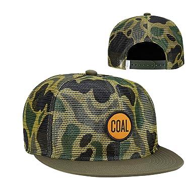 29f511e6e38fb Amazon.com  Coal Men s The Redmond Full Mesh Trucker Hat Adjustable  Snapback Cap