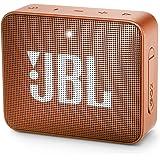JBL Go 2 Portable Waterproof Bluetooth Speaker with mic (Coral Orange)