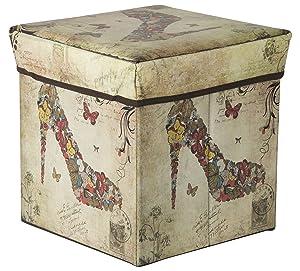 Maa Bhagwati Polyurethane Portable and Foldable Sitting Stool (Multicolour)
