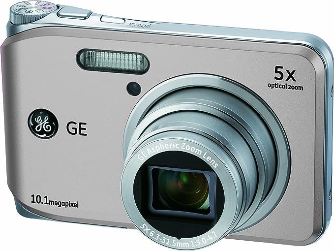 Ge General Electric J1050 Digitalkamera 2 7 Zoll Silber Kamera