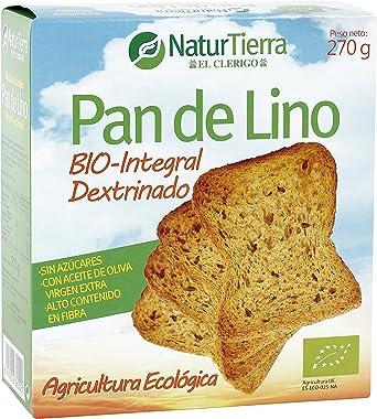 HIJAS DEL SOL NATUR TIERRA pan de lino caja 270 gr: Amazon.es ...