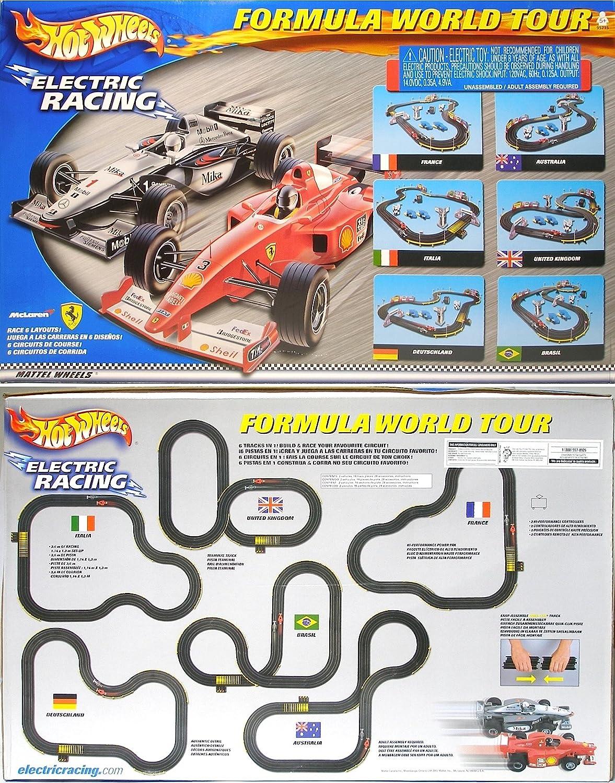 Circuito Hot Wheels : Buy tyco mattel hot wheels formula world tour slot car racing set