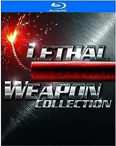 Lethal Weapon Collection (Lethal Weapon / Lethal Weapon 2 / Lethal Weapon 3 / Lethal Weapon 4) / Collection L'Arme fatale (Bilingual)[Blu-ray]