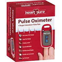 Heart Sure Pulse Oximeter, Red