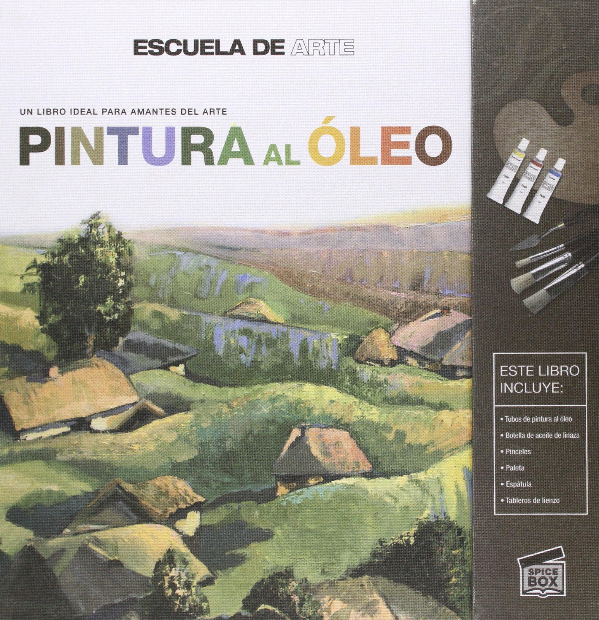 Pack Pintura Al Oleo. Descubre Al Artista Que Hay En Ti: Estilos y técnicas ADULTOS: Amazon.es: Vv.Aa.: Libros