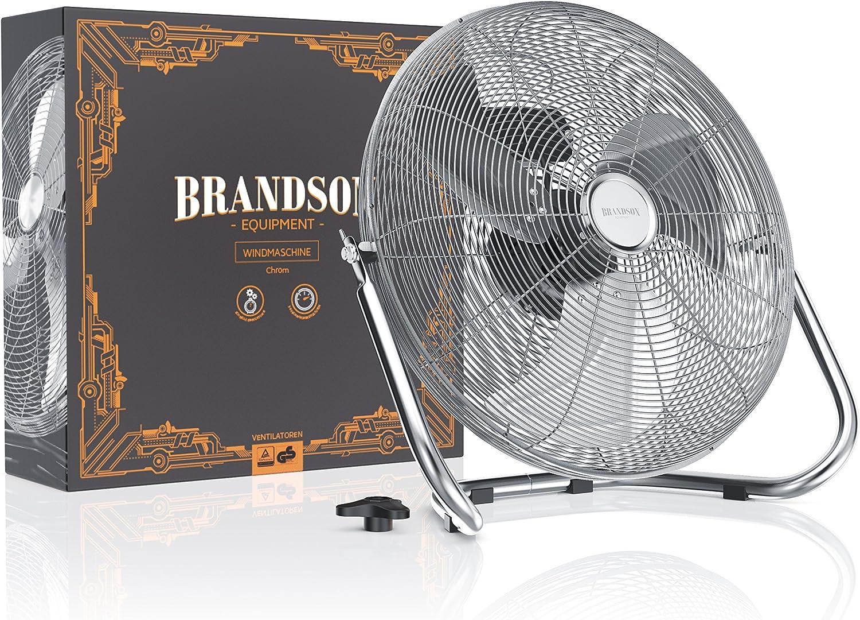 Brandson Ventilador de Mesa 50 cm | Power máquina de Viento con ...