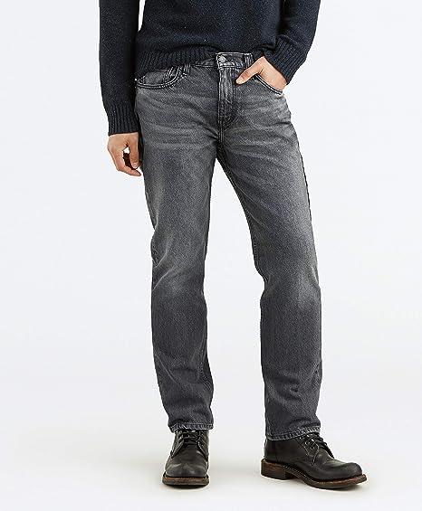 aff142dca96 Levi's Men's 514 Straight Fit Stretch Jean, Grey Stucco/warp, ...