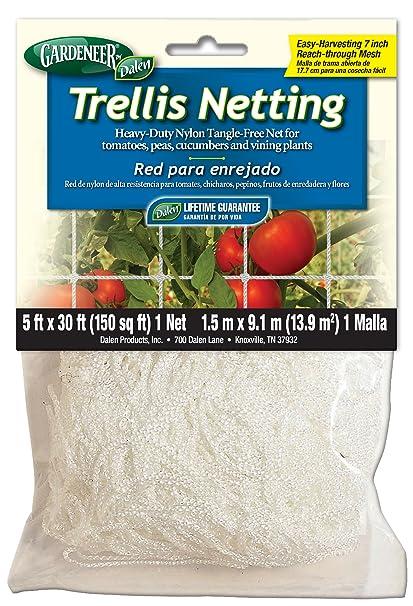 Dalen Gardeneer By Trellis Netting Heavy Duty Nylon Tangle Free Net 5u0027 X