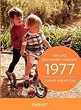 1977 - Ein ganz besonderer Jahrgang Zum 40. Geburtstag: Jahrgangs-Heftchen mit Kuvert