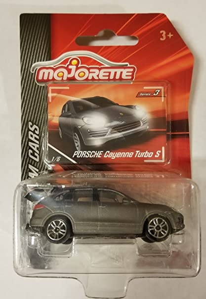 Majorette Series 3 PORSCHE CAYENNE TURBO S Grey Premium Cars Die-Cast Model Vehicle