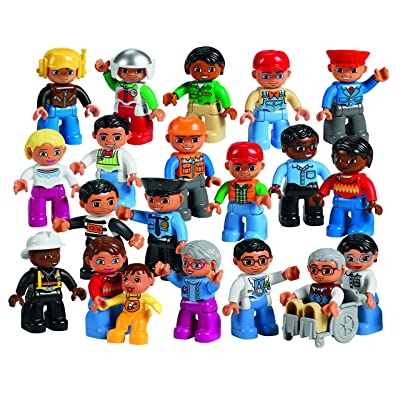 Community People Set for Exploring Roles and Responsibilities by LEGO Education DUPLO: Toys & Games