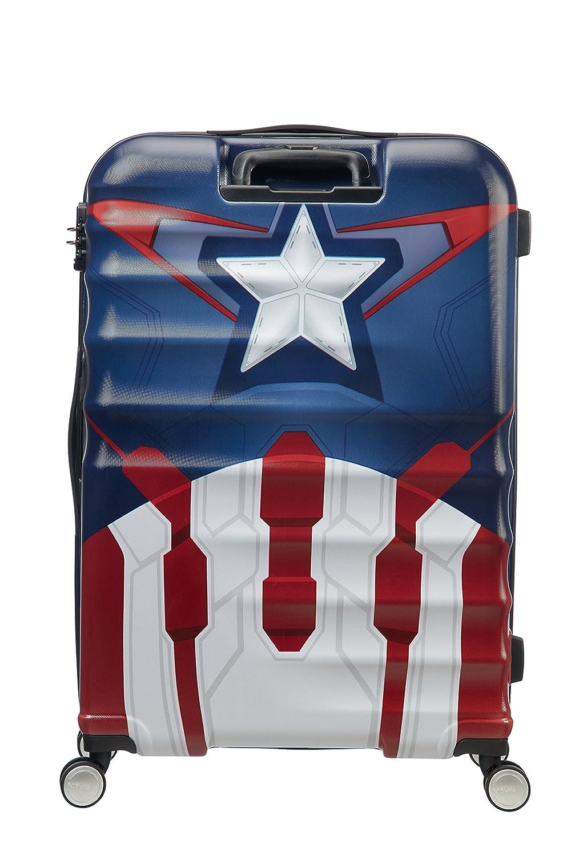 55 cm American Tourister Disney Wavebreaker Spinner 55//20 Marvel 2.6 KG Bagage enfant Multicolore 36 liters Captain America Close-Up