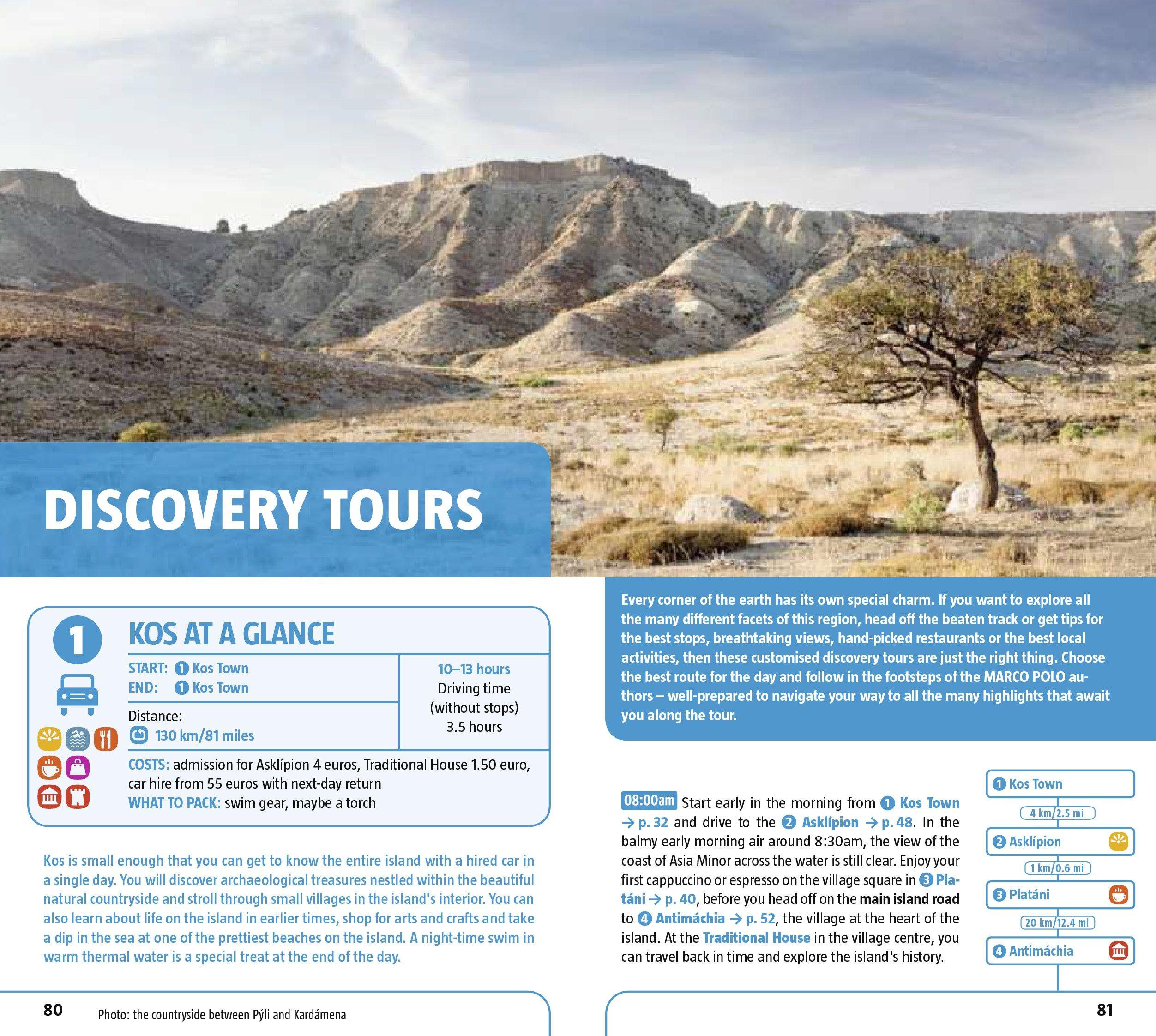 8a41e7bb9bb38 Kos Marco Polo Pocket Guide (Marco Polo Travel Guides)  Amazon.co.uk  Marco  Polo  9783829706650  Books