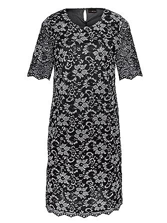 Miamoda kleid mit spitzenoberteil