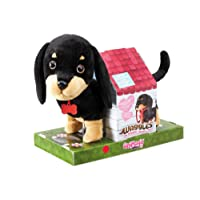 Animagic ANIMAGIC-31290.3176 Mon Teckel Rigolo Waggles-Marche, remue la Queue et aboie-Peluche Chien Interactive, 31290.3176, Multicolore