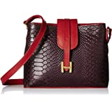 Hidesign Women's Handbag (AUB Red)