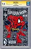 *SIGNED* SPIDER-MAN #1 CGC-SS 9.8 *SILVER EDITION* SIGNED ARTIST TODD MCFARLANE 1990