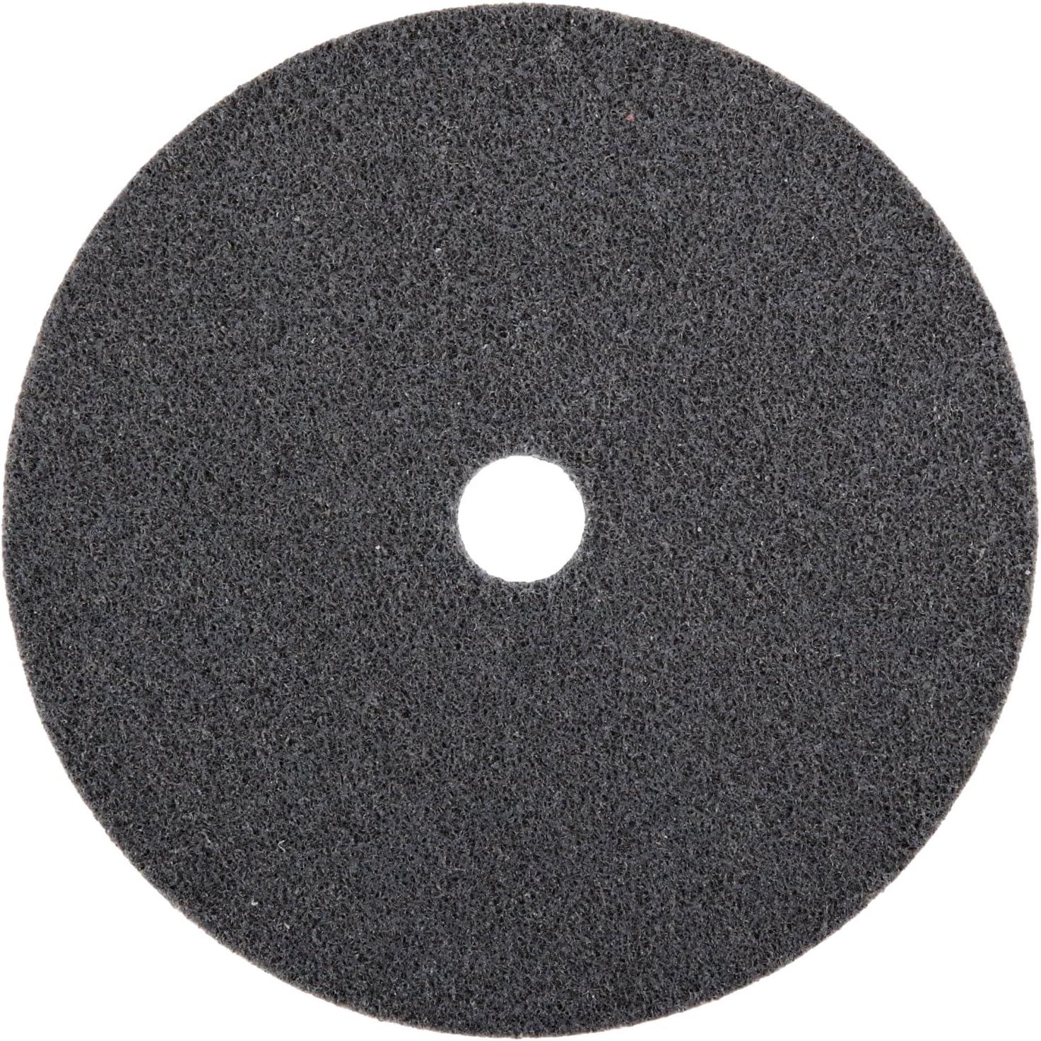 18100 rpm 6S Fine Grit 3//8 Arbor Scotch-Brite EXL Unitized Wheel 3 Diameter Pack of 1 Silicon Carbide