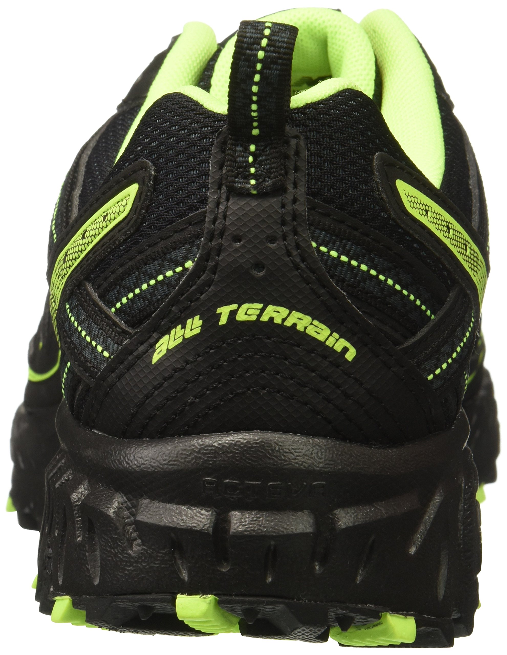 New Balance Men's MT410v5 Cushioning Trail Running Shoe, Black, 8 D US by New Balance (Image #2)