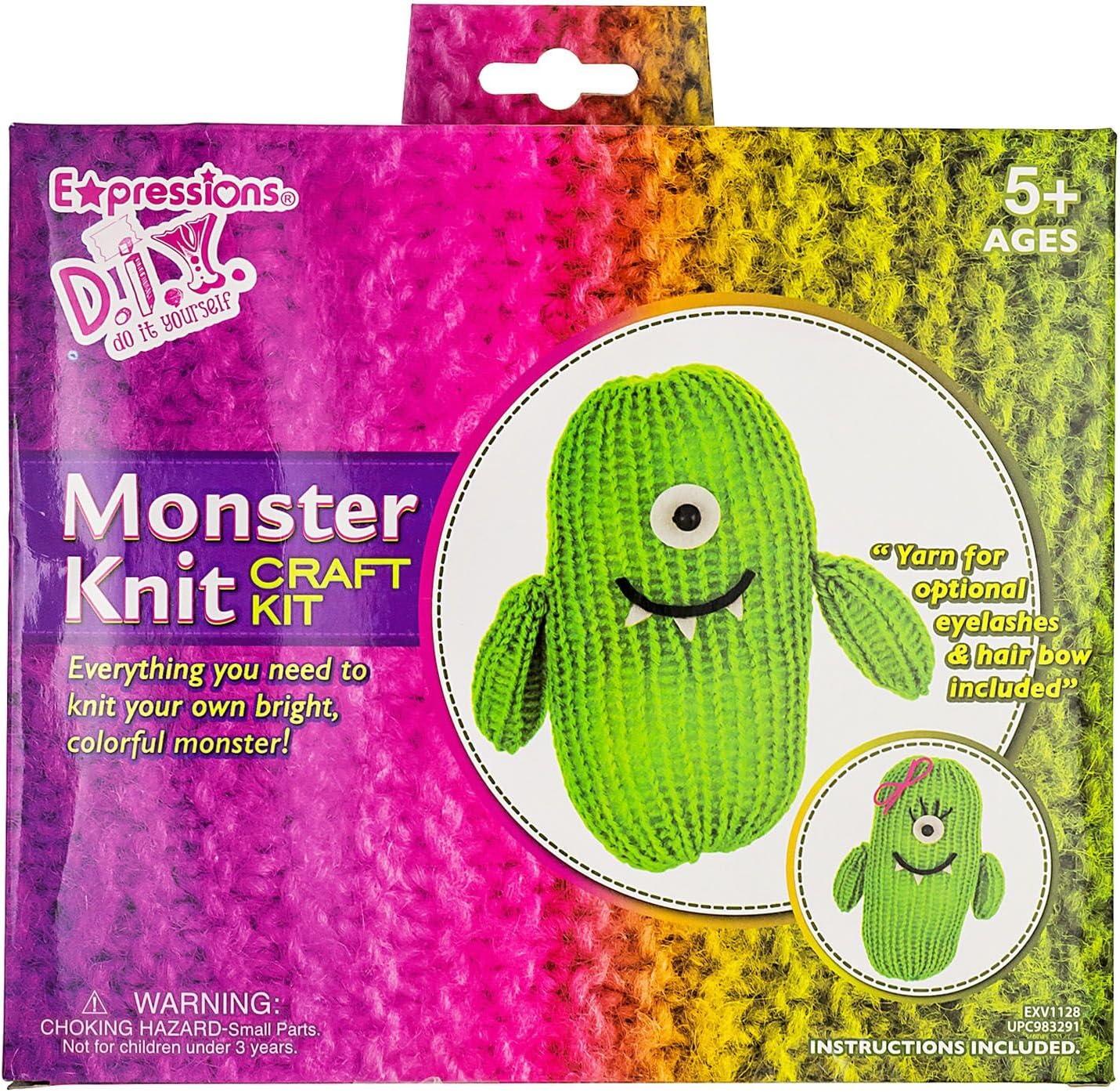 DIY de punto Monster Kit: Amazon.es: Juguetes y juegos