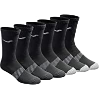 Saucony Men's 6 Pairs Run Dry Athletics Crew Socks