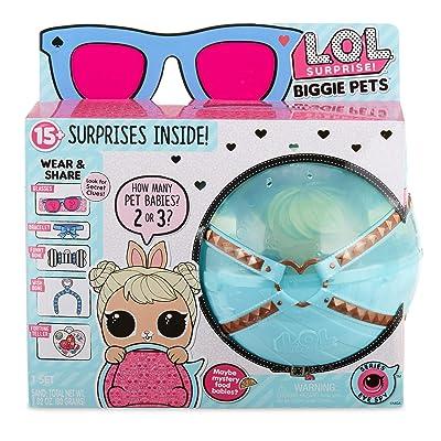 L.O.L. Surprise! Biggie Pet- Cottontail Q.T.: Toys & Games