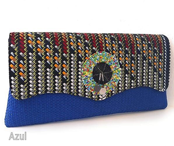 Bolso de mano para mujer telas Africa clutch cartera de mano ideal para regalo exclusivo regalo