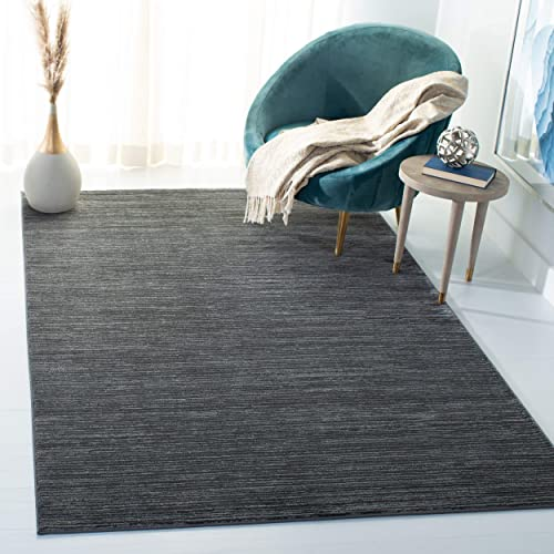 Safavieh Vision Collection VSN606D Modern Contemporary Ombre Chic Area Rug, 4 x 6 , Grey