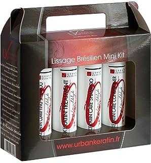 Kit de alisado brasileño Urban Keratin 100 ml