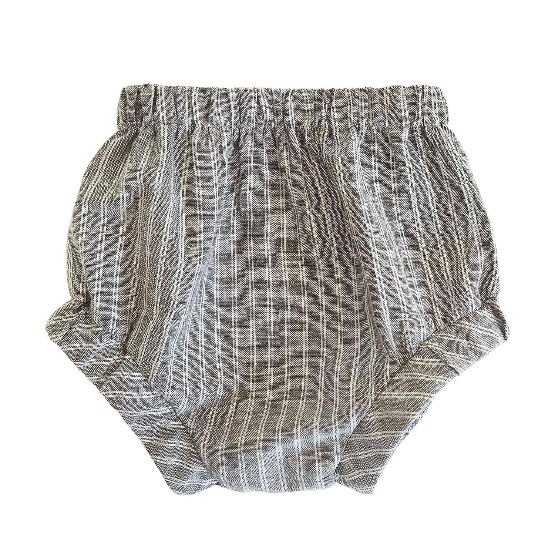 Monroe Linen Baby Shorts