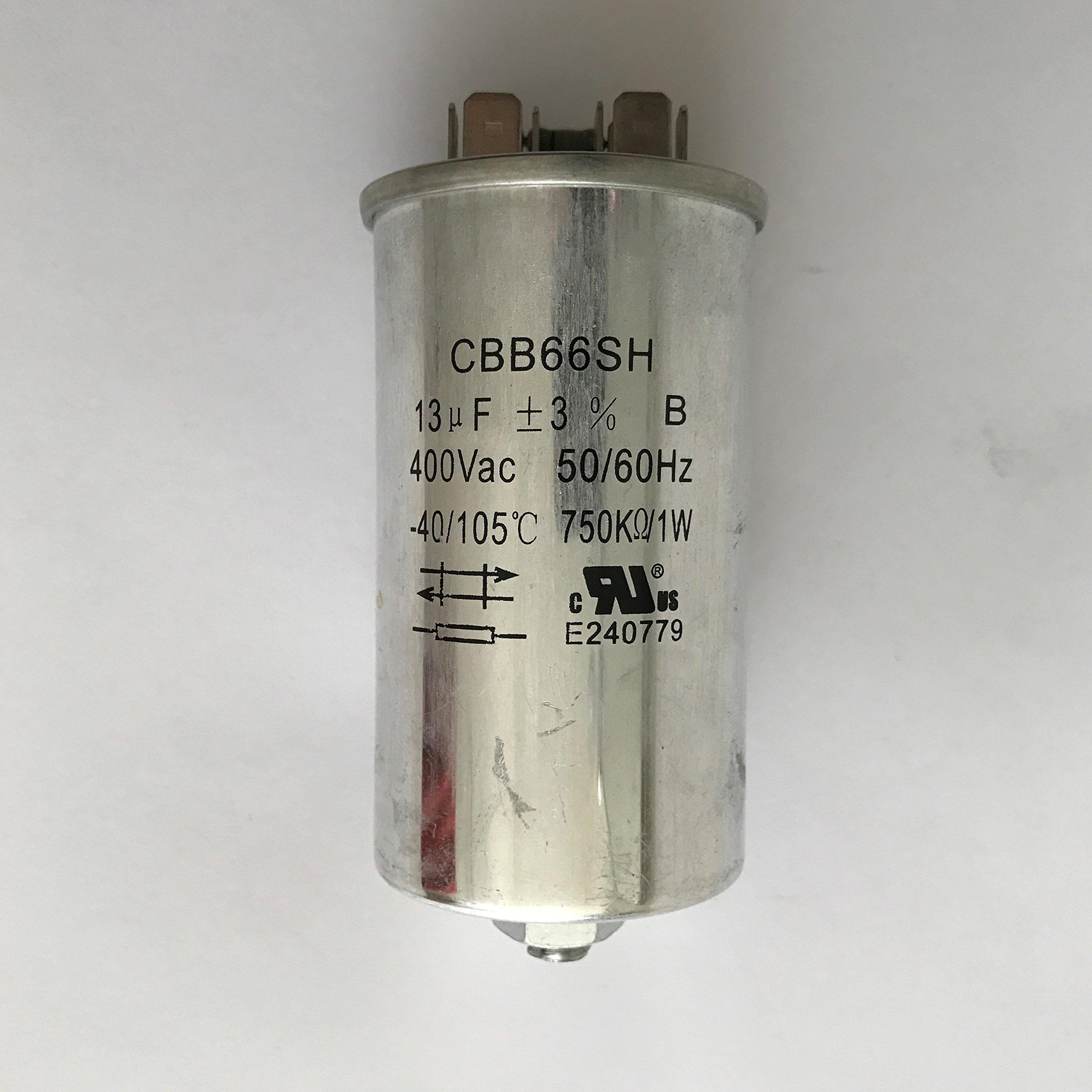 Capacitor 13uF/400VAC 120-480 Volt for Metal Halide 200 Watt-PS (1 Piece)